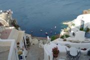 From Crete to Santorini Island