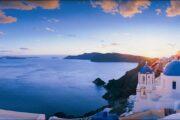 from crete to santorini island 2 days tour