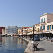 Chania city port