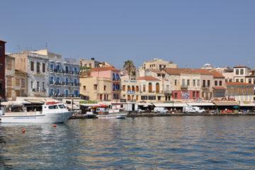 Chania city port