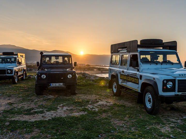 jeep safari land rover
