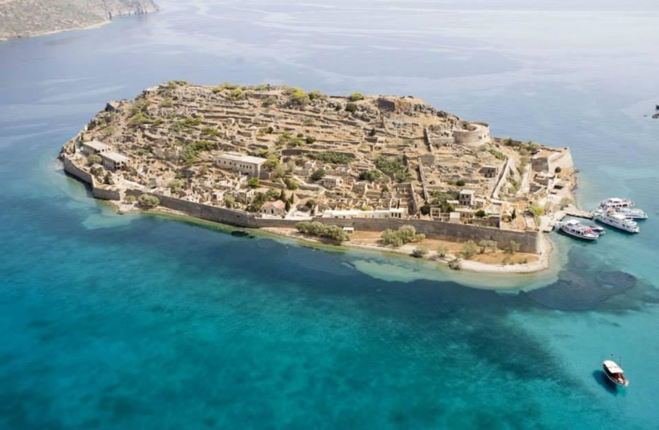 The Historical spinalonga island