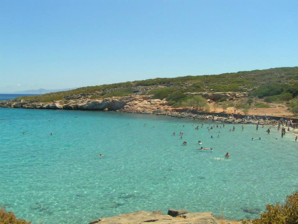 the historical spinalonga island in Crete