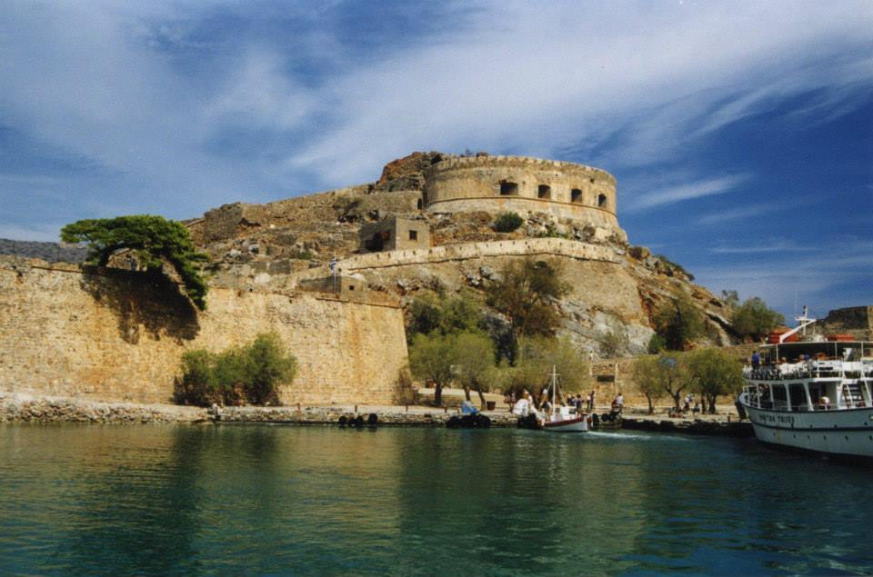 the historical spinalonga island