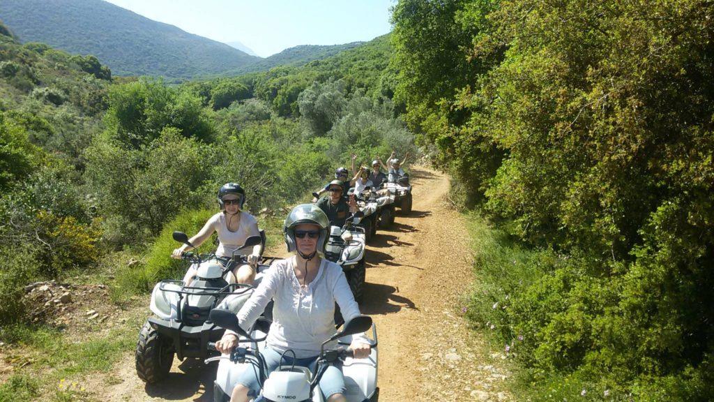 quad tours - ATV quad Safari in Crete