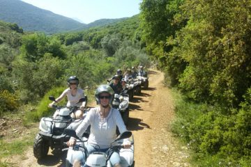 quad tours - ATV quad Safari in Crete