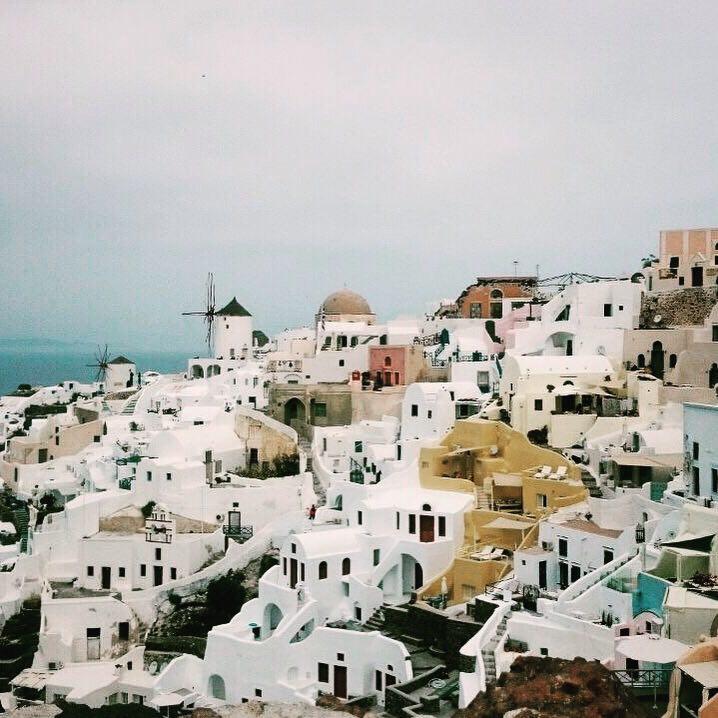 From Crete to Santorini Island
