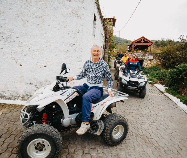 ATV Quad Safari Tour in Crete by GoXplore Tours - village