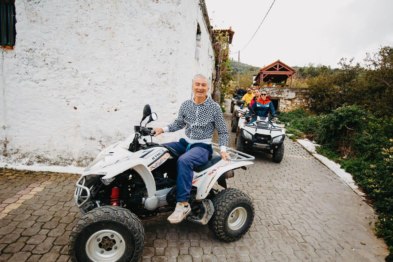 ATV Quad Safari Tour in Crete by GoXplore Tours - village