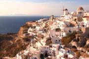 crete to Santorini island