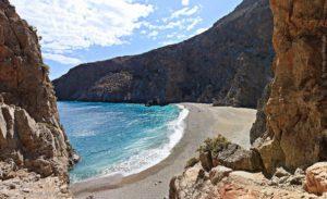 agiofarago beach , crete