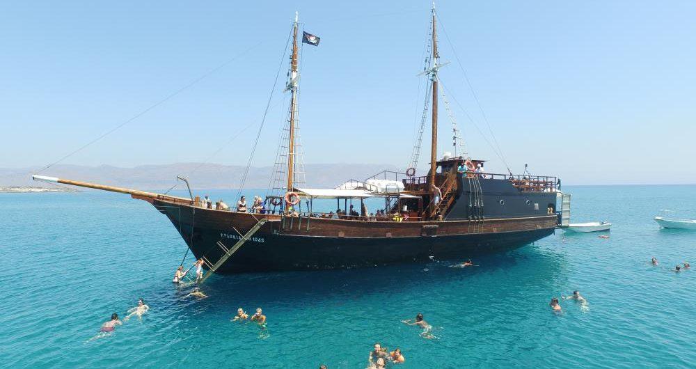 koufonisi island cruise boat