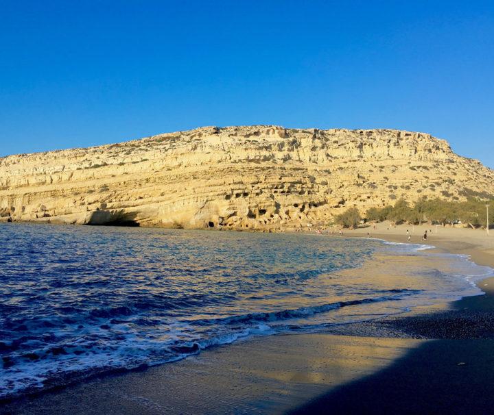 matala beach tour, crete