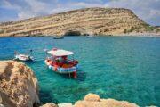 south crete, matala beach